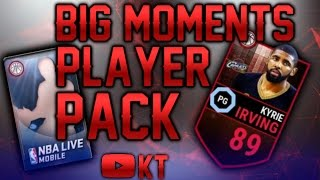 getlinkyoutube.com-BIG MOMENTS PACK OPENING! MY BEST PULL! NBA LIVE MOBILE
