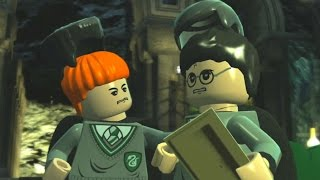 getlinkyoutube.com-LEGO Harry Potter Years 1-4 - 100% Guide #9 Crabbe and Goyle (House Crests, Character Tokens)