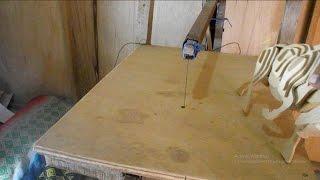 getlinkyoutube.com-Como fabricar sierra caladora de banco casera
