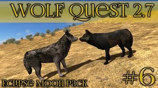 getlinkyoutube.com-Wolf Courtship Among the Grass Plains || Wolf Quest 2.7 - Episode #6
