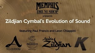 getlinkyoutube.com-Vintage Cymbals - Memphis Drum Shop - 100 years - Zildjian