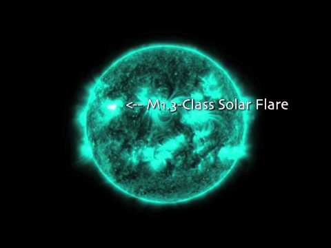 Quadruple X-Flaring Sunspot Is At It Again | Video
