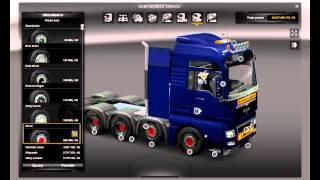 getlinkyoutube.com-Euro Truck Simulator 2 MAN TGX 8×4 und 10×4 lift