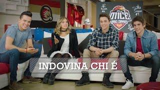 """O11CE – UNDICI CAMPIONI - """"Indovina chi è"""" con Leonardo, Mariano, Sebastián e Paulina"""