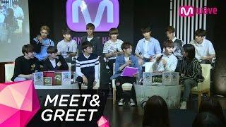 getlinkyoutube.com-[Seventeen Fan Meeting] Vocalist Seungkwan and Rapper Vernon Switch Up Their Parts l MEET&GREET