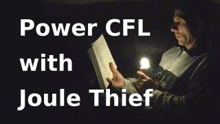 getlinkyoutube.com-How to Make Joule Thief Light a CFL - Jeanna's Light