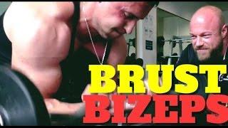 getlinkyoutube.com-Hardcore Workout - Brust & Bizeps