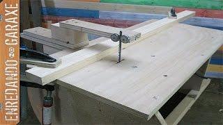 getlinkyoutube.com-Guía para cortes rectos con sierra de calar de mesa