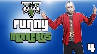 getlinkyoutube.com-GTA 5 Online Funny Moments Ep. 4 (Store Heist, Hit And Runs, Street Fights)