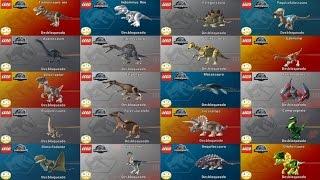 getlinkyoutube.com-LEGO Jurassic World  Como Liberar Todos os Dinossauros  (Dublado PT-BR)
