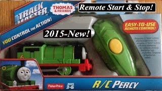 getlinkyoutube.com-Thomas and Friends Toy Train-Newly Re-designed Trackmaster Remote Percy!