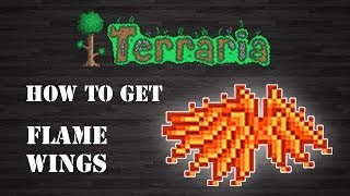 "getlinkyoutube.com-Terraria : "" Flame Wings "" [How To Get] [Step by Step]"