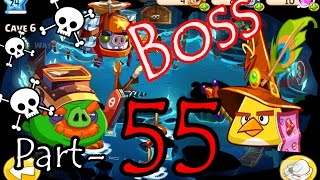 getlinkyoutube.com-Angry Birds Epic: Part-55 Gameplay Chronicle Cave 14: Stormy Sea 8-10 (Plus Boss Battle iOS)