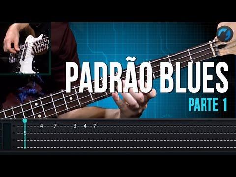 Padr�o Blues - Parte 1 (como tocar - aula de contra-baixo)