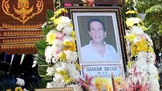 Graham Briar, Last Farewell  Funeral  Chiang Rai Thailand