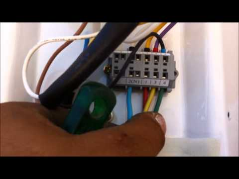 Ligação eletrica Ar Condicionado split