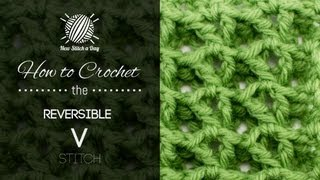 getlinkyoutube.com-How to Crochet the Reversible V Stitch