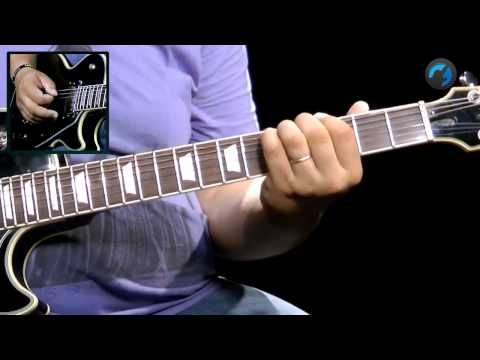 Bends e Vibratos - (aula t�cnina de guitarra)