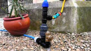 getlinkyoutube.com-Plastic Hydraulic ram pump