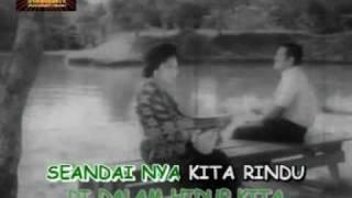 "getlinkyoutube.com-SAAT YANG BAHAGIA (KARAOKE) P.Ramlee & Saloma versi filem ""Masam Masam Manis"" (1965)"