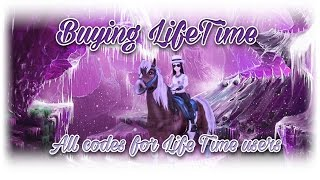 ✔ ALL REDEEM CODES 2017 & Buying Life Time Star Stable