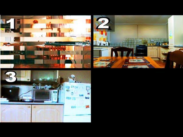Poltergeist Activity Caught On Tape In Kitchen By 3 Cameras.
