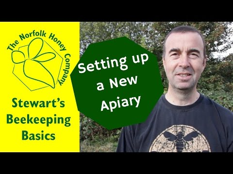 Establishing a New Apiary #Beekeeping Basics - The Norfolk Honey Co.