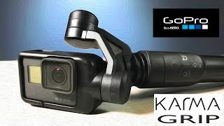 getlinkyoutube.com-GoPro Karma Grip Gimbal Stabilizer Unbox and Features