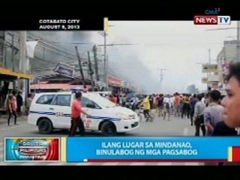 Ilang Lugar Mindanao Binulabog Mga Pagsabog Balita Pilipinas