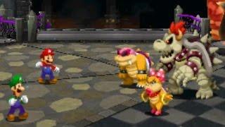 getlinkyoutube.com-Mario & Luigi: Paper Jam - Dry Bowser Secret Boss Battle