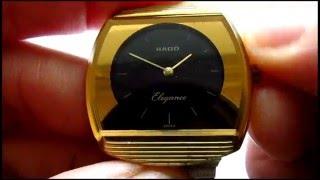 getlinkyoutube.com-Rado Elegance Water Sealed Wristwatch