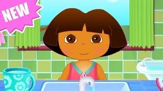 getlinkyoutube.com-Dora The Explorer - Baby Dora Hygiene Care - Dora the Explorer Full Episodes