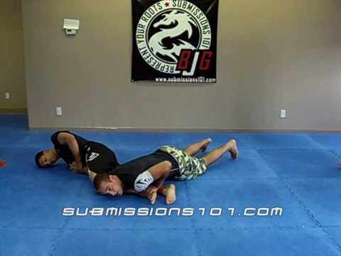 Belly Down Arm Bar Escape:Basic