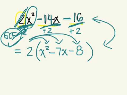 Factoring Trinomials 7.2 & 7.4 gr 10 applied 05 14 13