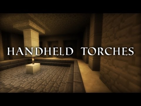Handheld Torches | Squirt's Minecraft Tutorials