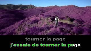 ZAHO   Tourner la page   karaoké avec voix   lyrics