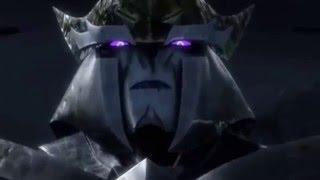 getlinkyoutube.com-Transformers Prime Beast Hunters: Predacons Rising Predaking vs Megatron\Unicron