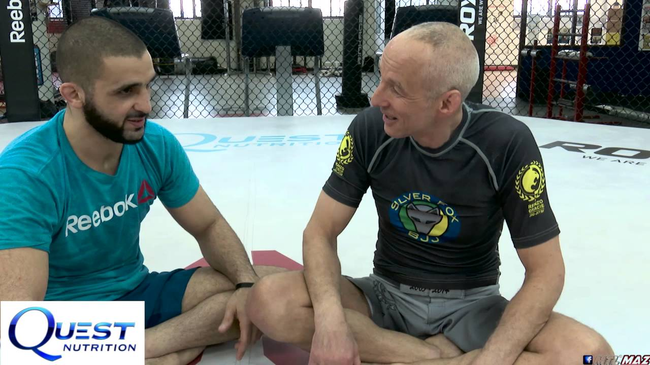 Brazilian Jiu-Jitsu - Discussion and Technique - Escape Knee on Belly with Silver Fox - Firas Zahabi
