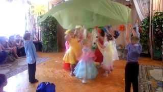 getlinkyoutube.com-Мир Цветов -танец с тканью