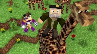 getlinkyoutube.com-Minecraft | LA JIRAFA MÁS MONA!! c/ Vegetta | Minijuego BUILD BATTLE