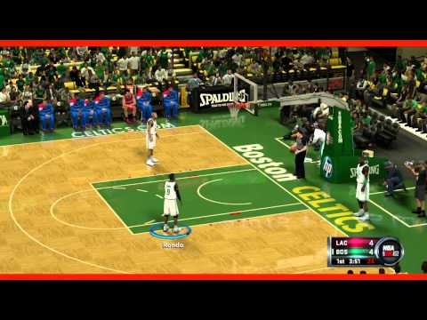 Thumbnail image for ''NBA 2K12' Gameplay Footage: Celtics vs. Clippers'