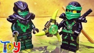 getlinkyoutube.com-decool 레고 닌자고 고스트닌자 로이드 에어로블래이드 미니피규어 중국 짝퉁 lego ghost ninjago lloyd