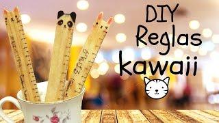 getlinkyoutube.com-Crea tus reglas kawaii personalizadas / Tutorial / regreso a clases /school