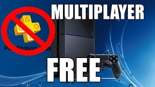 getlinkyoutube.com-How To Play Multiplayer On PS4 For FREE (NO PS PLUS NEEDED)