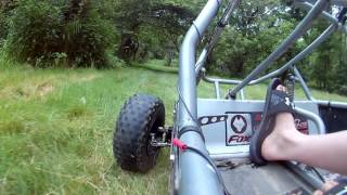 Bad Go Kart Wreck Leads to Injury!