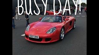 getlinkyoutube.com-PORSCHE CARS & COFFEE ; CAR THROTTLE MEET w/ Shmee150 & SeenThroughGlass