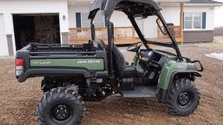 getlinkyoutube.com-John Deere 855D Diesel Gator with Power Steering 2013