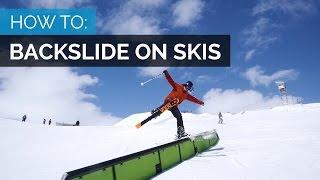 getlinkyoutube.com-HOW TO BACK SLIDE ON SKIS | TRENDIEST TRICK OF THE SEASON