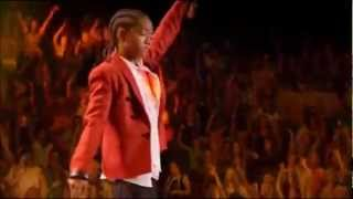 getlinkyoutube.com-Justin Bieber Ft. Jaden Smith - Never Say Never (Madison Square Garden)