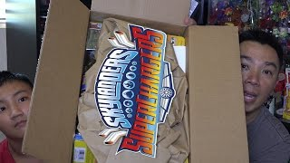 getlinkyoutube.com-Skylanders SuperChargers Unboxing